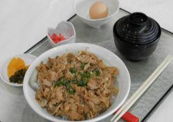 牛丼セット(温玉付)